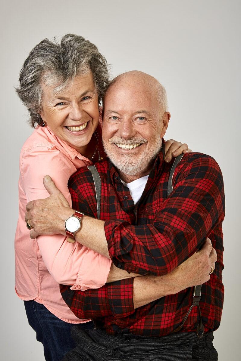 Margie Kinsky und Bill Mockridge
